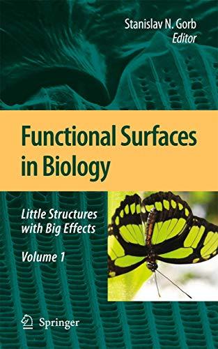 Functional Surfaces in Biology: Stanislav S. N. Gorb