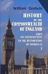 9781402110115: History of the Commonwealth of England. From Its Commencement, to the Restoration of Charles II. Volume 1