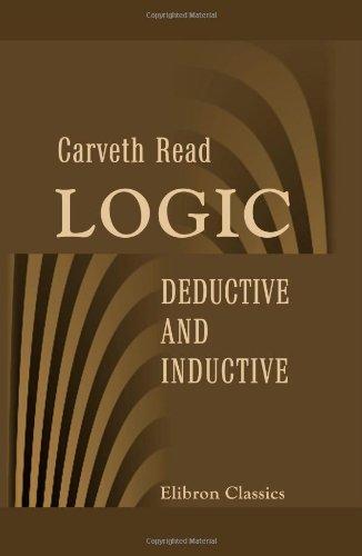 9781402158605: Logic Deductive and Inductive