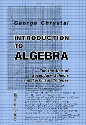 9781402159077: Introduction to Algebra: For the Use of Secondary Schools and Technical Colleges