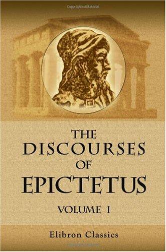 9781402166914: The Discourses of Epictetus: Volume 1