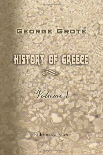 9781402170072: History of Greece: Volume 1
