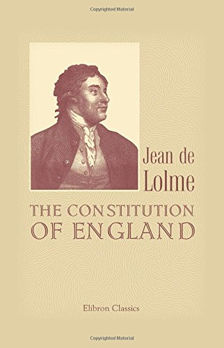 9781402184284: The Constitution of England