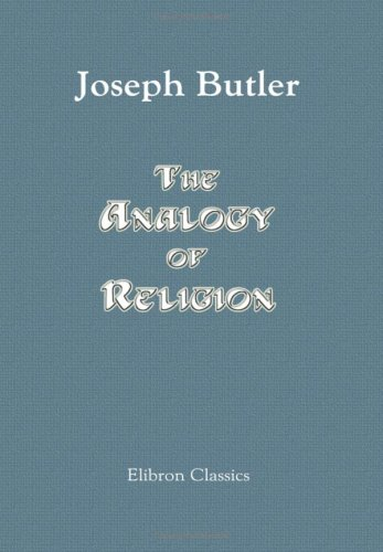 9781402197390: The Analogy of Religion