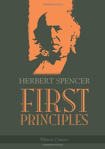9781402199790: First Principles