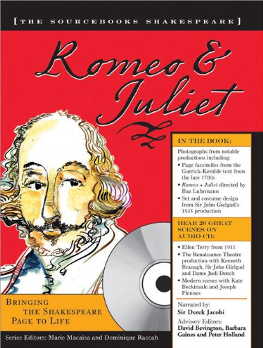 9781402201011: Romeo and Juliet (The Sourcebooks Shakespeare; Book & CD)