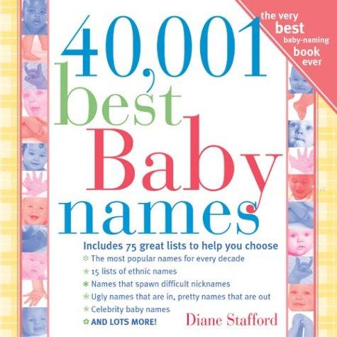 9781402201035: 40,001 Best Baby Names