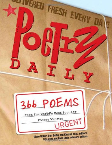 9781402201516: Poetry Daily: 366 Poems from the World's Most Popular Poetry Website