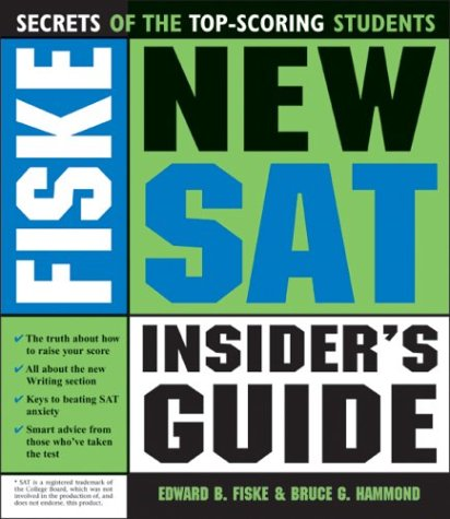 9781402201639: Fiske New SAT Insider's Guide