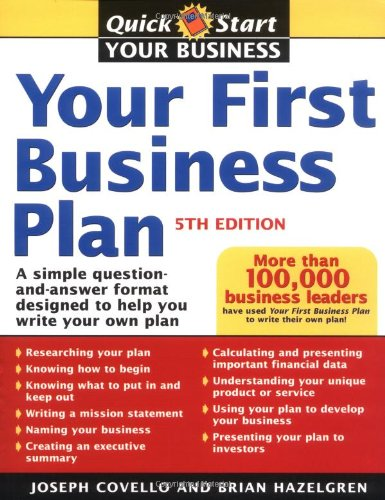 9781402204128: Your First Business Plan: A Simple Question and Answer Format Designed to Help You Write Your Own Plan, 5th Edition