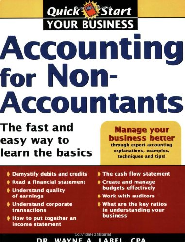 9781402206573: Accounting for Non-Accountants: The Fast and Easy Way to Learn the Basics