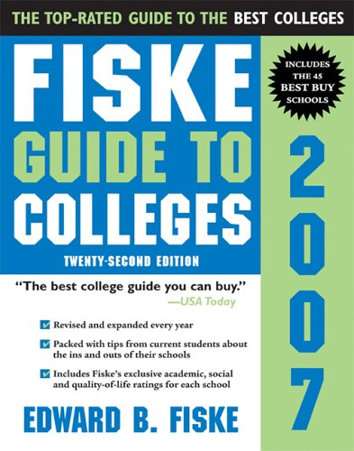 9781402206603: Fiske Guide to Colleges 2007