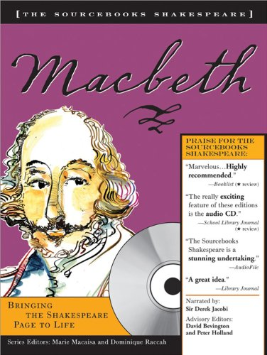 Macbeth (Sourcebooks Shakespeare; Book & CD): William Shakespeare