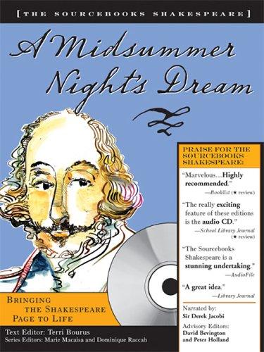 9781402206894: A Midsummer Night's Dream (Sourcebooks Shakespeare; Book & CD)