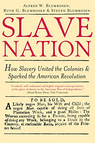 9781402206979: Slave Nation: How Slavery United the Colonies and Sparked the American Revolution