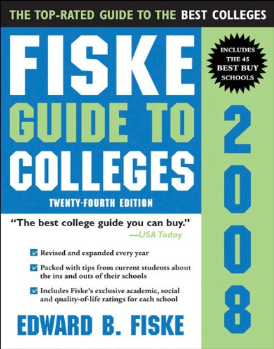 9781402208362: Fiske Guide to Colleges 2008