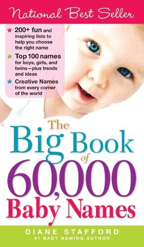 9781402209505: The Big Book of 60,000 Baby Names
