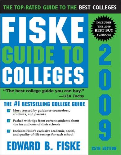 9781402209598: Fiske Guide to Colleges 2009, 25E
