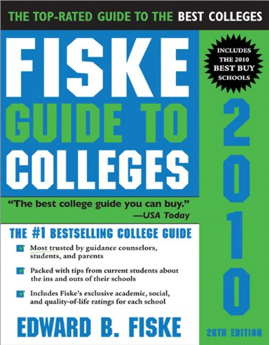 9781402209604: Fiske Guide to Colleges 2010