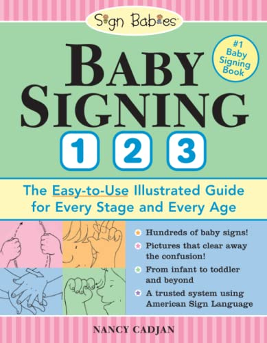 9781402209789: Baby Signing 1 2 3: The Easy-To-Use Illustrated Guide for Every Stage and Every Age (Sign Babies)