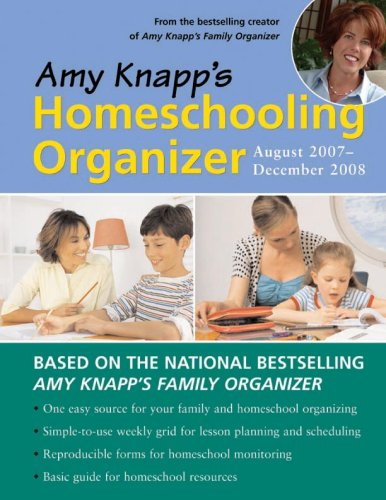 9781402209901: 2008 Amy Knapp's Homeschooling Organizer Calendar