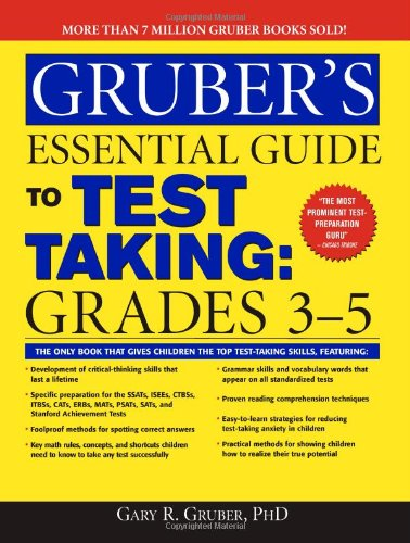 9781402211850: Gruber's Essential Guide to Test Taking: Grades 3-5