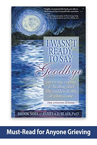 9781402212215: I Wasn't Ready to Say Goodbye: Surviving, Coping and Healing After the Sudden Death of a Loved One