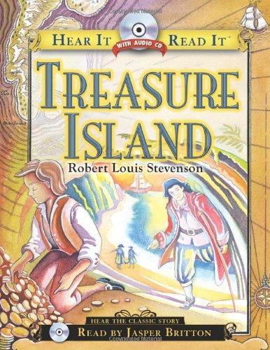 Treasure Island (Hear it Read it): Robert Louis Stevenson