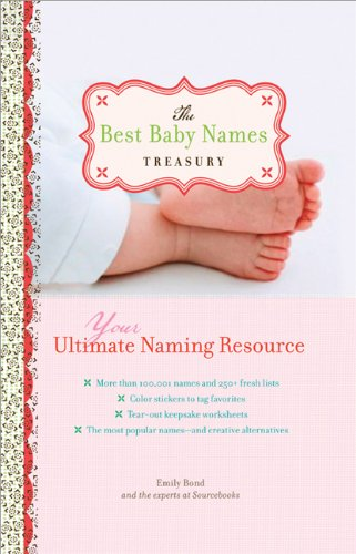 9781402214295: The Best Baby Names Treasury