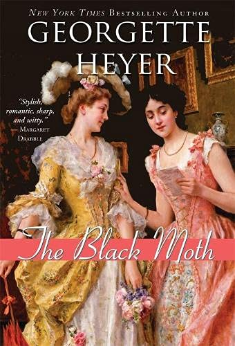 9781402219528: The Black Moth (Historical Romances)