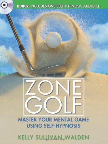9781402239649: Zone Golf with CD: Master Your Mental Game Using Self-Hypnosis