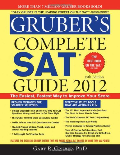 9781402253317: Gruber's Complete SAT Guide 2012