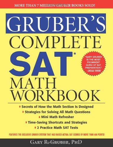 9781402253379: Gruber's Complete SAT Math Workbook
