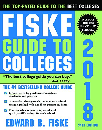 9781402260681: Fiske Guide to Colleges 2018