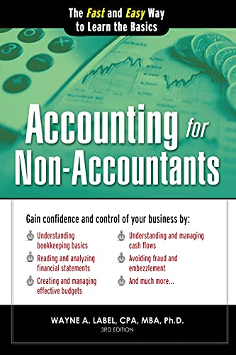 9781402273049: Accounting for Non-Accountants: The Fast and Easy Way to Learn the Basics (Quick Start Your Business)