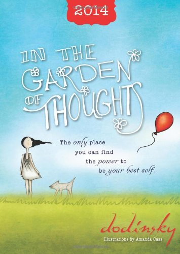 9781402283437: 2014 In the Garden of Thoughts planner