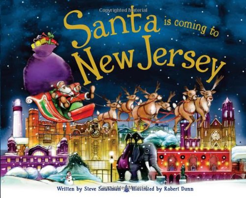 9781402287978: Santa Is Coming to New Jersey