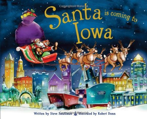 9781402288180: Santa Is Coming to Iowa