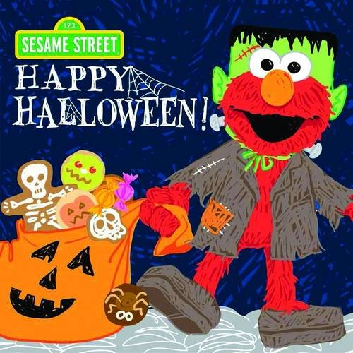 9781402297502: Happy Halloween! (Sesame Street Scribbles Elmo)