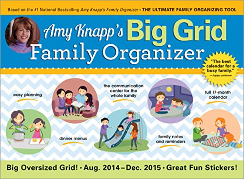 9781402298929: Amy Knapp's Big Grid Family Organizer