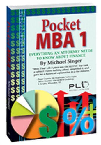 9781402406324: Pocket MBA 1: Everything an Attorney Needs to Know About Finance