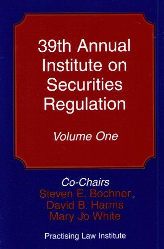 9781402409714: Securities Regulation Institute 2007 (39th Annual)