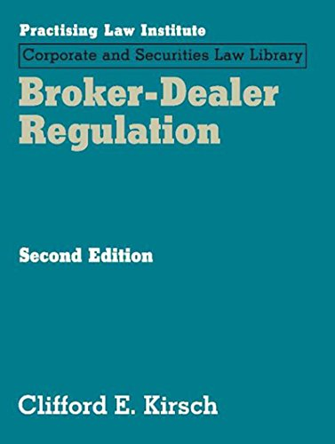 9781402416897: Broker Dealer Regulation
