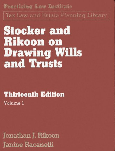 Stocker & Rikoon on Drawing Wills and: Jonathan Rikoon/ Janine