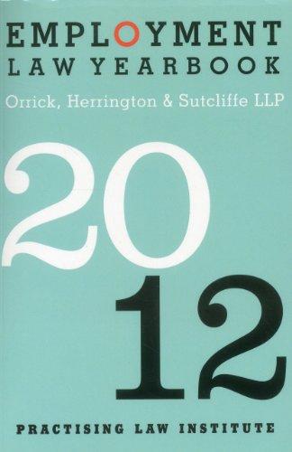 Employment Law Yearbook 2012: Sutcliffe LLP, Orrick, Herrington &