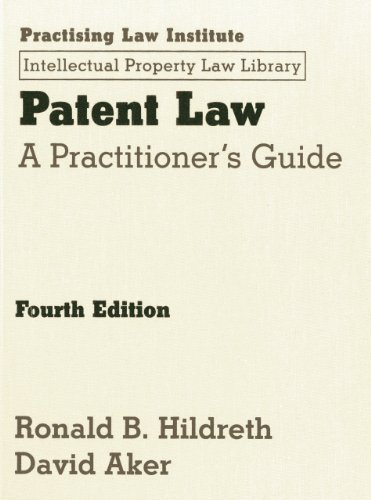 9781402418945: Patent Law (Intellectual Property Law Library)