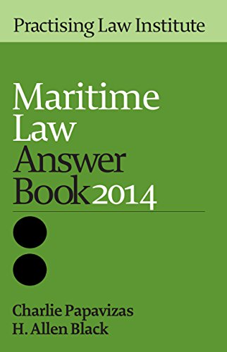 9781402421402: Maritime Law Answer Book 2014