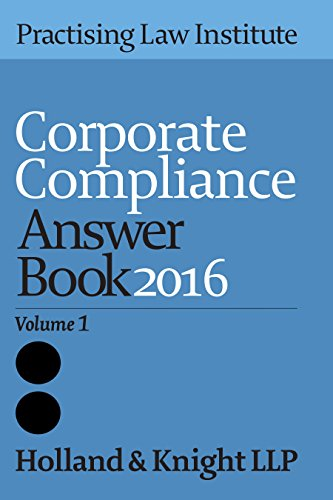 9781402422546: Corporate Compliance Answer Book 2015