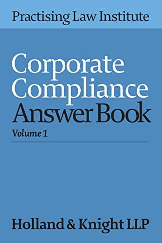 9781402424045: Corporate Compliance Answer Book 2016