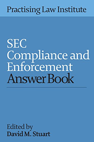 SEC Compliance and Enforcement Answer Book 2015 (Paperback): David M Stuart